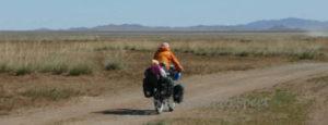 Fietsen in Mongolie